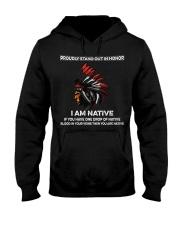Pround Native American Hooded Sweatshirt thumbnail