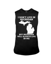 I don't live in Michigan but Michigan will always  Sleeveless Tee thumbnail