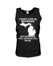 I don't live in Michigan but Michigan will always  Unisex Tank thumbnail