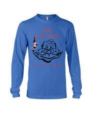 Wine with dewine Long Sleeve Tee thumbnail