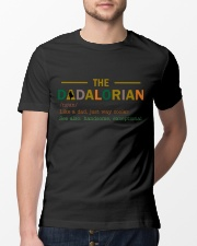 The Dadalorian - 1 DAY LEFT - GET YOURS NOW Classic T-Shirt lifestyle-mens-crewneck-front-13