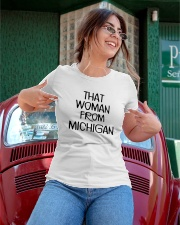 That woman from michigan Ladies T-Shirt apparel-ladies-t-shirt-lifestyle-01