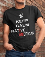 I am Native American Classic T-Shirt apparel-classic-tshirt-lifestyle-26