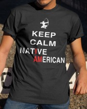 I am Native American Classic T-Shirt apparel-classic-tshirt-lifestyle-28