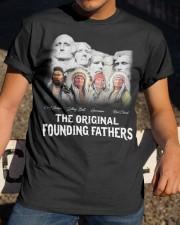 Pround Native American Classic T-Shirt apparel-classic-tshirt-lifestyle-28