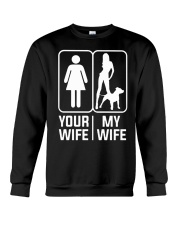 My Wife - Pit Mom Crewneck Sweatshirt thumbnail
