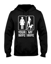 My Wife - Pit Mom Hooded Sweatshirt thumbnail