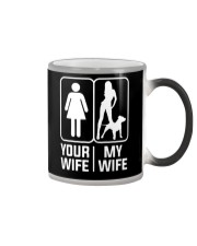 My Wife - Pit Mom Color Changing Mug thumbnail