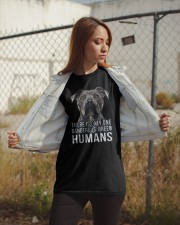 There is only one dangerous breed humans Classic T-Shirt apparel-classic-tshirt-lifestyle-07