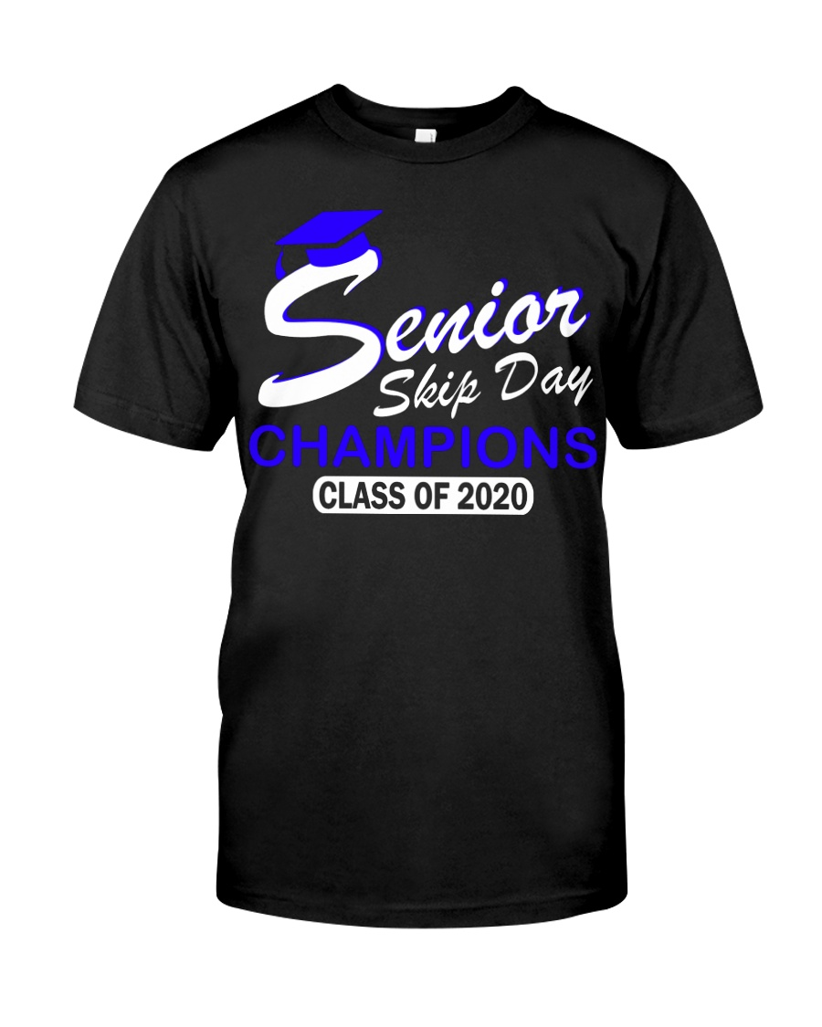 SENIOR skip day cham Blue Classic T-Shirt
