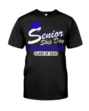 SENIOR skip day cham Blue Classic T-Shirt front