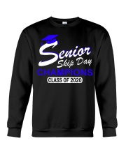 SENIOR skip day cham Blue Crewneck Sweatshirt thumbnail