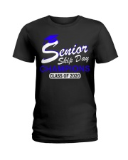 SENIOR skip day cham Blue Ladies T-Shirt thumbnail