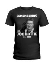 Remembering Joe Diffie Ladies T-Shirt thumbnail