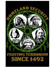 Homeland Security Fighting Terrorism Since 1492 16x24 Poster thumbnail