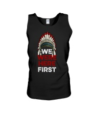 We Were Here First Unisex Tank thumbnail