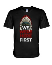 We Were Here First V-Neck T-Shirt thumbnail
