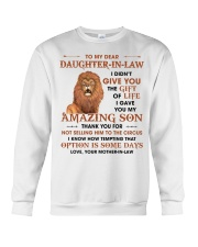 To DIL Thanks For Not Selling My Son To The Circus Crewneck Sweatshirt thumbnail