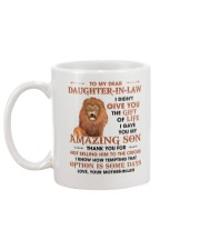 To DIL Thanks For Not Selling My Son To The Circus Mug back