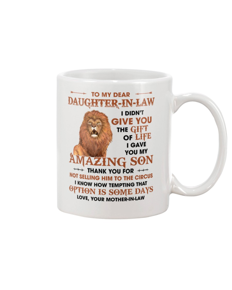 To DIL Thanks For Not Selling My Son To The Circus Mug