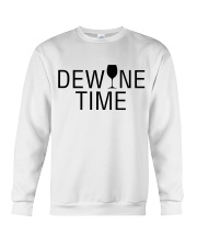 Wine with dewine Crewneck Sweatshirt thumbnail