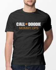 Call of Doodie Mommy ops - 1 DAY LEFT - GET YOU Classic T-Shirt lifestyle-mens-crewneck-front-13