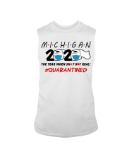 Michigan 2020 Quarantined Sleeveless Tee thumbnail
