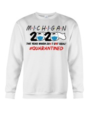 Michigan 2020 Quarantined Crewneck Sweatshirt thumbnail