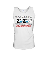 Michigan 2020 Quarantined Unisex Tank thumbnail