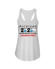 Michigan 2020 Quarantined Ladies Flowy Tank thumbnail