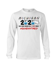 Michigan 2020 Quarantined Long Sleeve Tee thumbnail