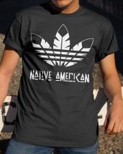 Native American  Classic T-Shirt apparel-classic-tshirt-lifestyle-28
