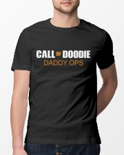 Call of Doodie Daddy ops - 1 DAY LEFT - GET YOU Classic T-Shirt lifestyle-mens-crewneck-front-13