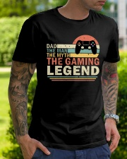 Dad The Man The Myth The Gaming The Legend Classic T-Shirt lifestyle-mens-crewneck-front-7