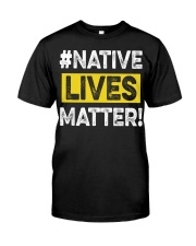 Native Lives Matter Premium Fit Mens Tee thumbnail