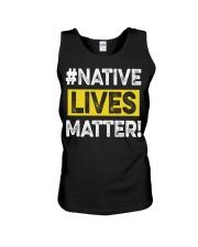 Native Lives Matter Unisex Tank thumbnail