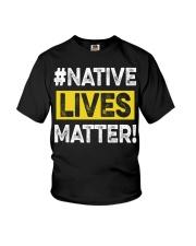 Native Lives Matter Youth T-Shirt thumbnail