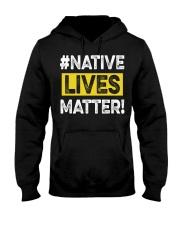 Native Lives Matter Hooded Sweatshirt thumbnail