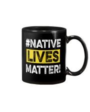 Native Lives Matter Mug thumbnail