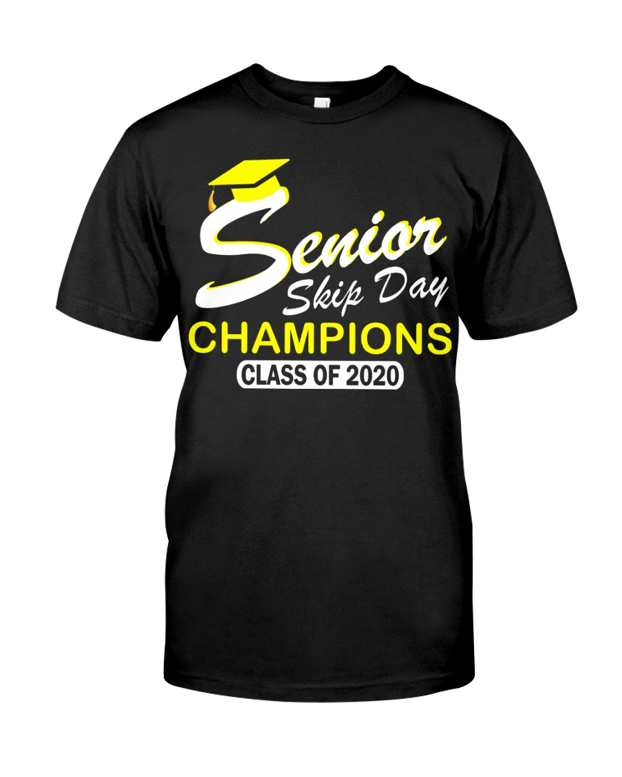 SENIOR skip day cham Yellow Classic T-Shirt