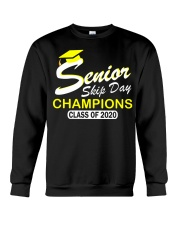SENIOR skip day cham Yellow Crewneck Sweatshirt thumbnail