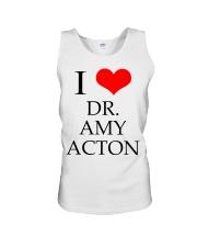 I Love Dr Amy ACton Unisex Tank thumbnail