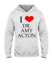 I Love Dr Amy ACton Hooded Sweatshirt thumbnail