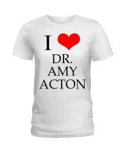 I Love Dr Amy ACton Ladies T-Shirt thumbnail