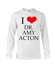I Love Dr Amy ACton Long Sleeve Tee thumbnail
