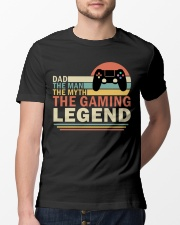 Dad The Man The Myth The Gaming The Legend Classic T-Shirt lifestyle-mens-crewneck-front-13