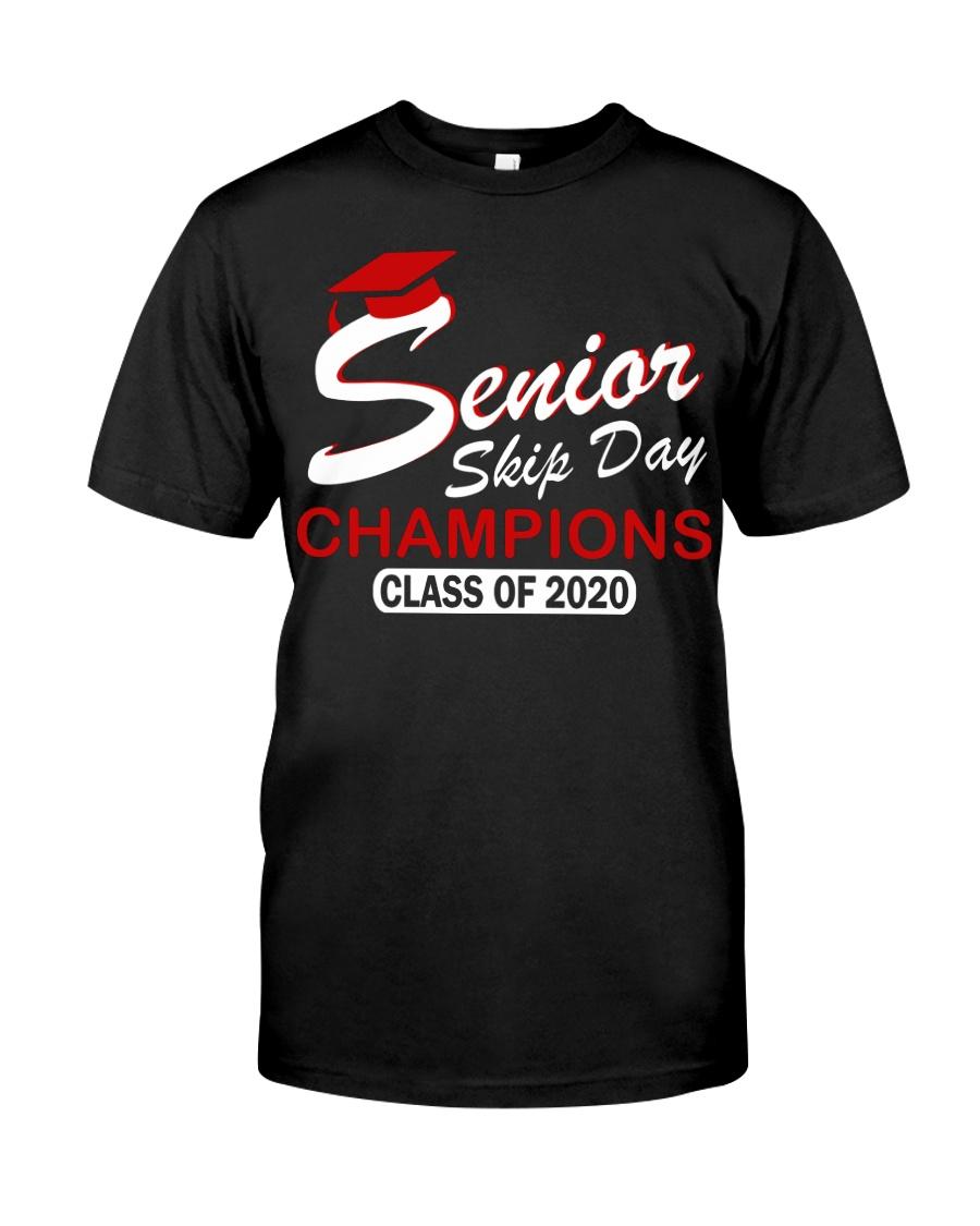 SENIOR skip day cham red Classic T-Shirt
