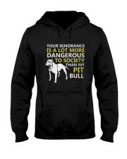 Pit Bulls Lovers Hooded Sweatshirt thumbnail