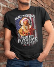 Native history Classic T-Shirt apparel-classic-tshirt-lifestyle-26