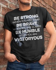 BE Strong Be rave Classic T-Shirt apparel-classic-tshirt-lifestyle-26